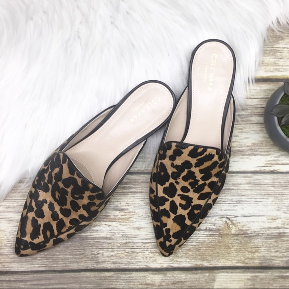 241edec48e51 Cole Haan Shoes | Piper Ocelot Leopard Mule | Poshmark